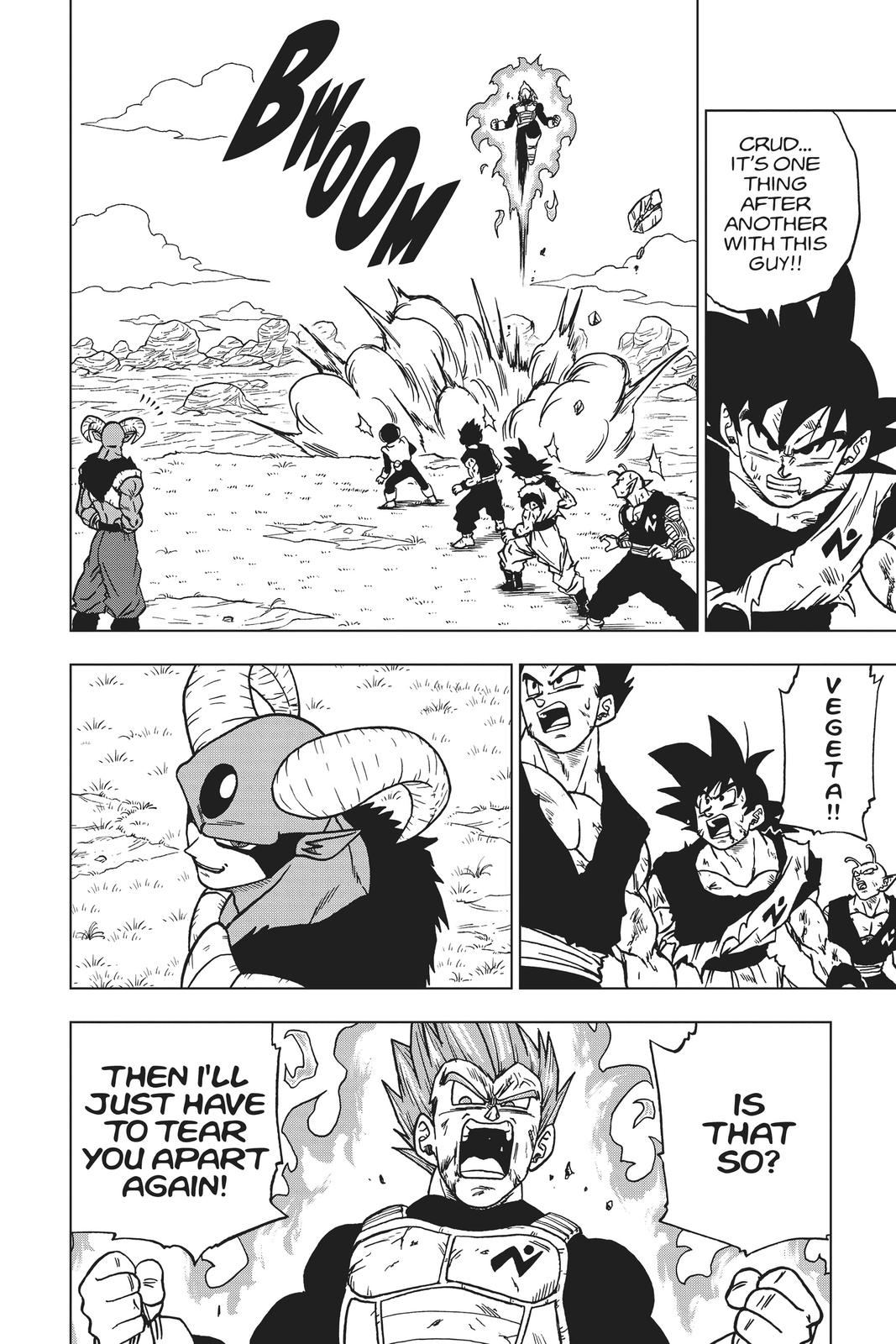 Dragon Ball Super Chapter 62 Page 2