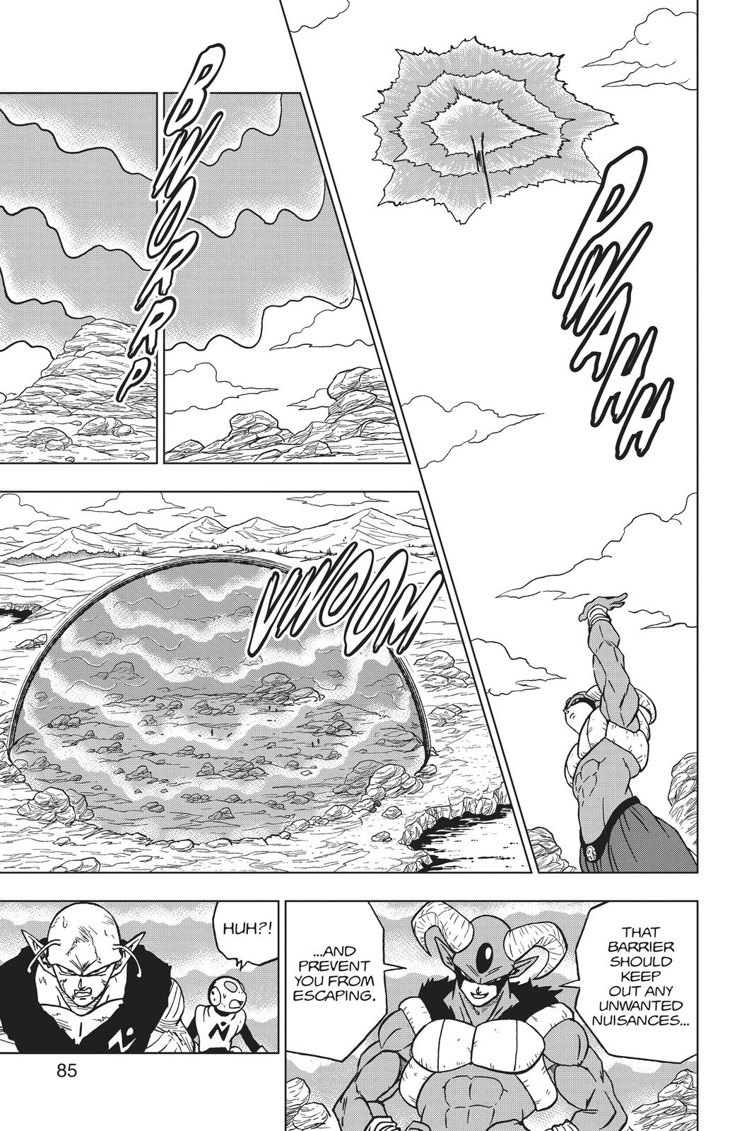 Dragon Ball Super Chapter 62 Page 33