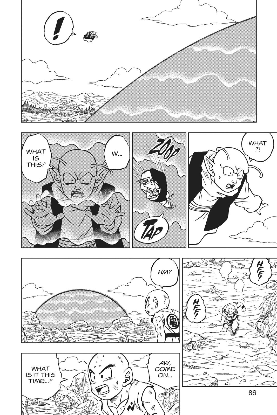 Dragon Ball Super Chapter 62 Page 34
