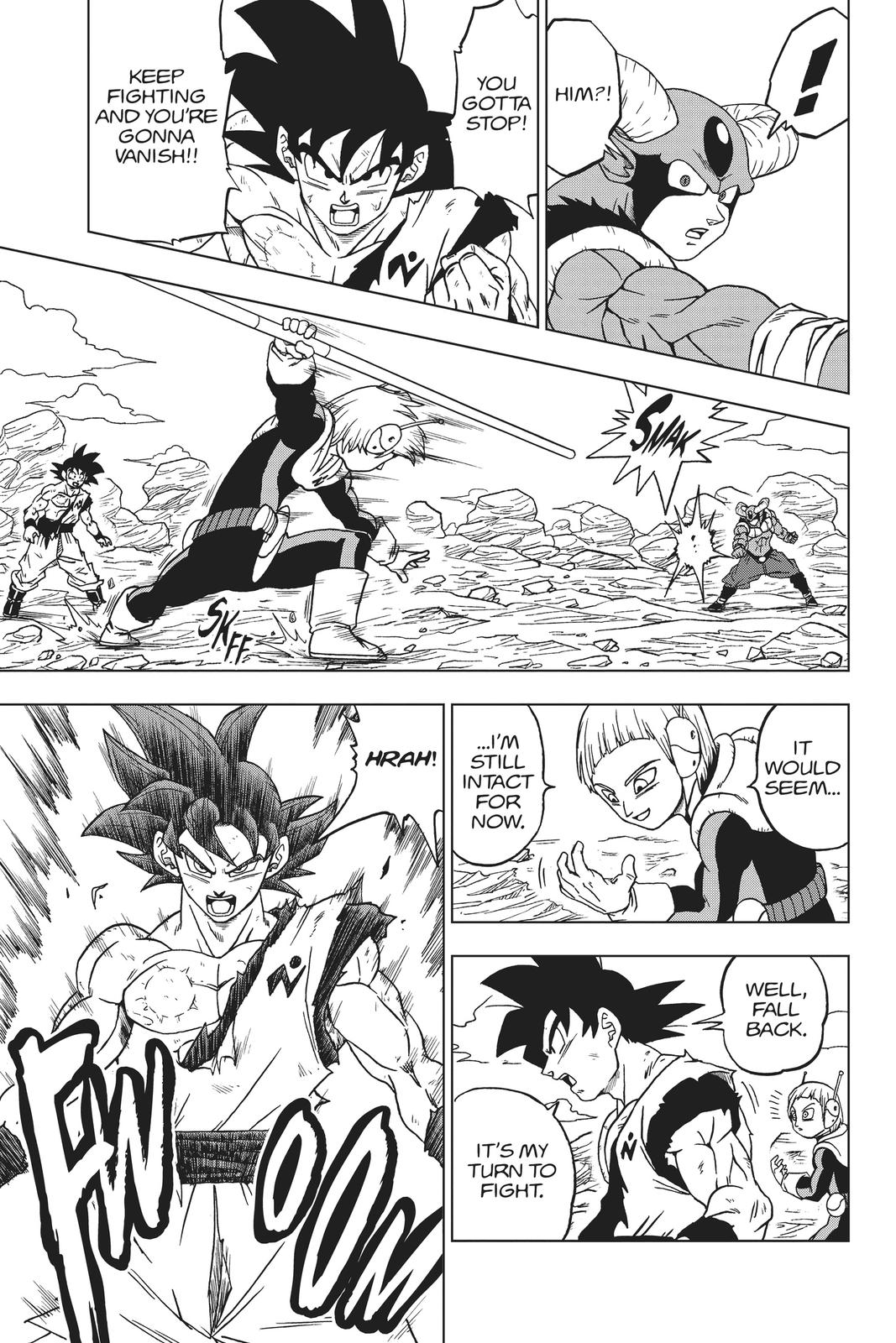 Dragon Ball Super Chapter 63 Page 21