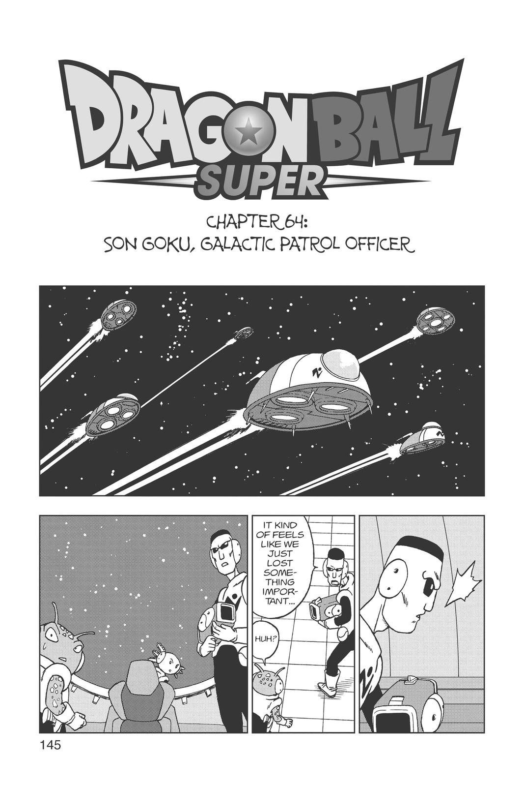 Dragon Ball Super Chapter 64 Page 1