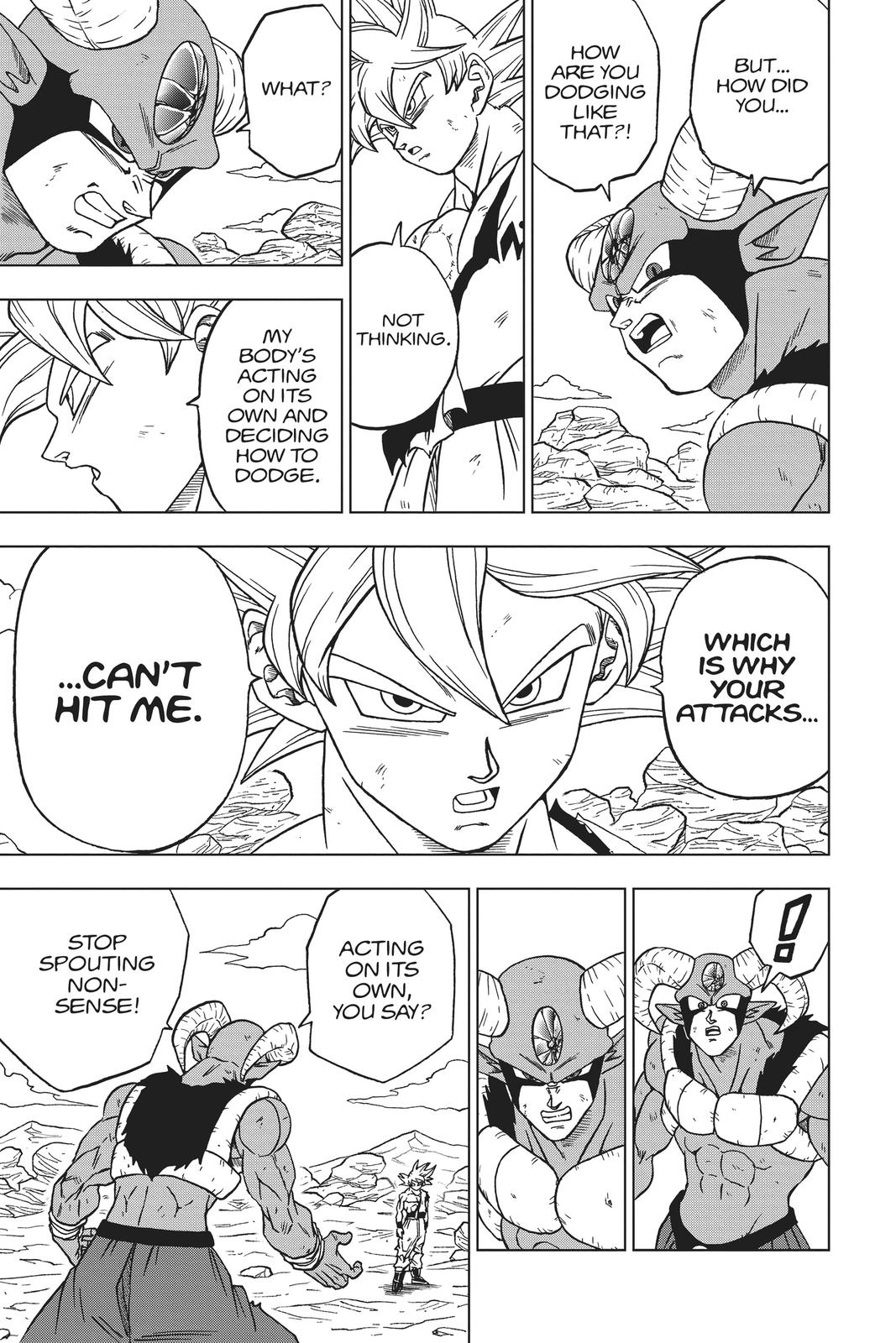 Dragon Ball Super Chapter 64 Page 23