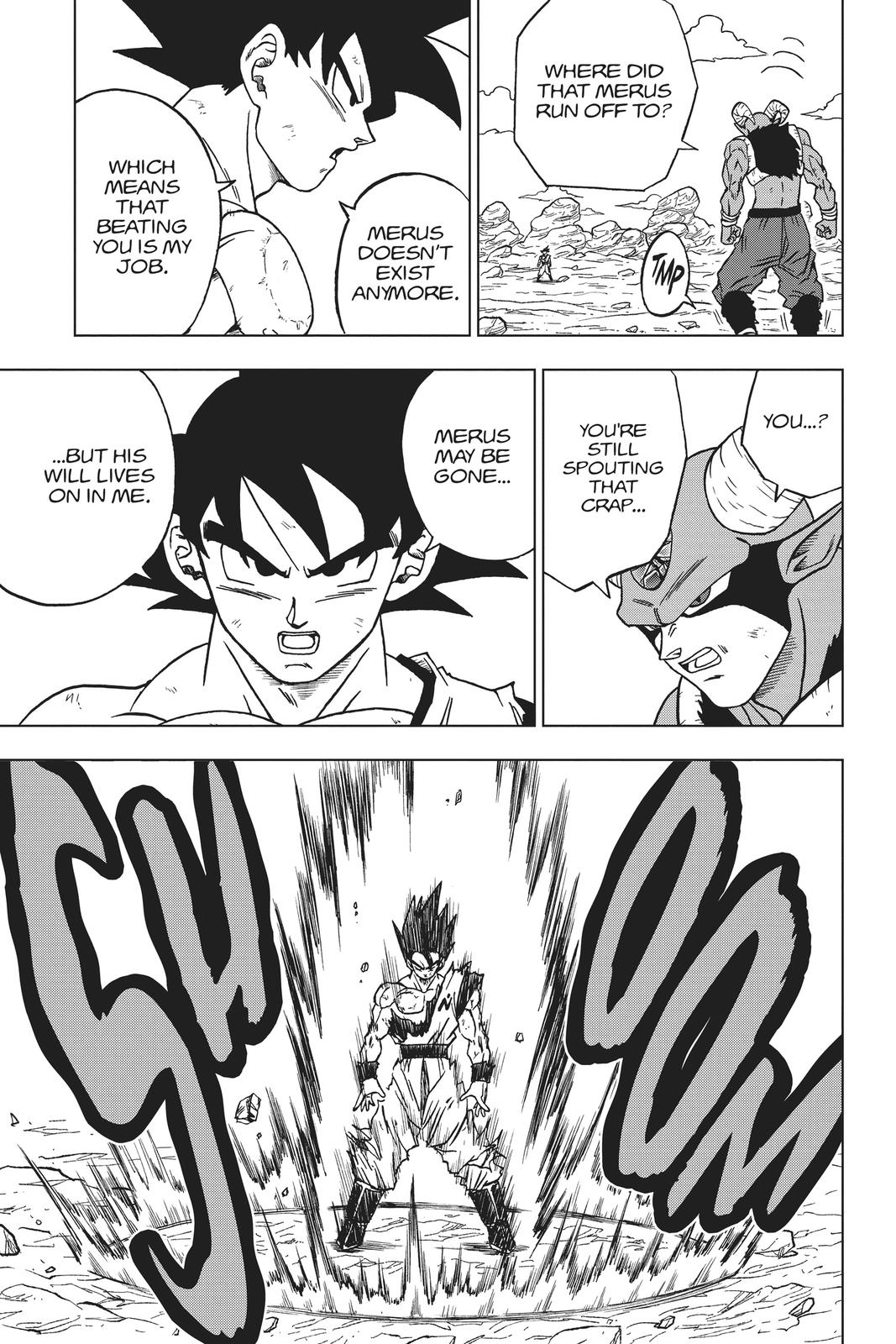 Dragon Ball Super Chapter 64 Page 7