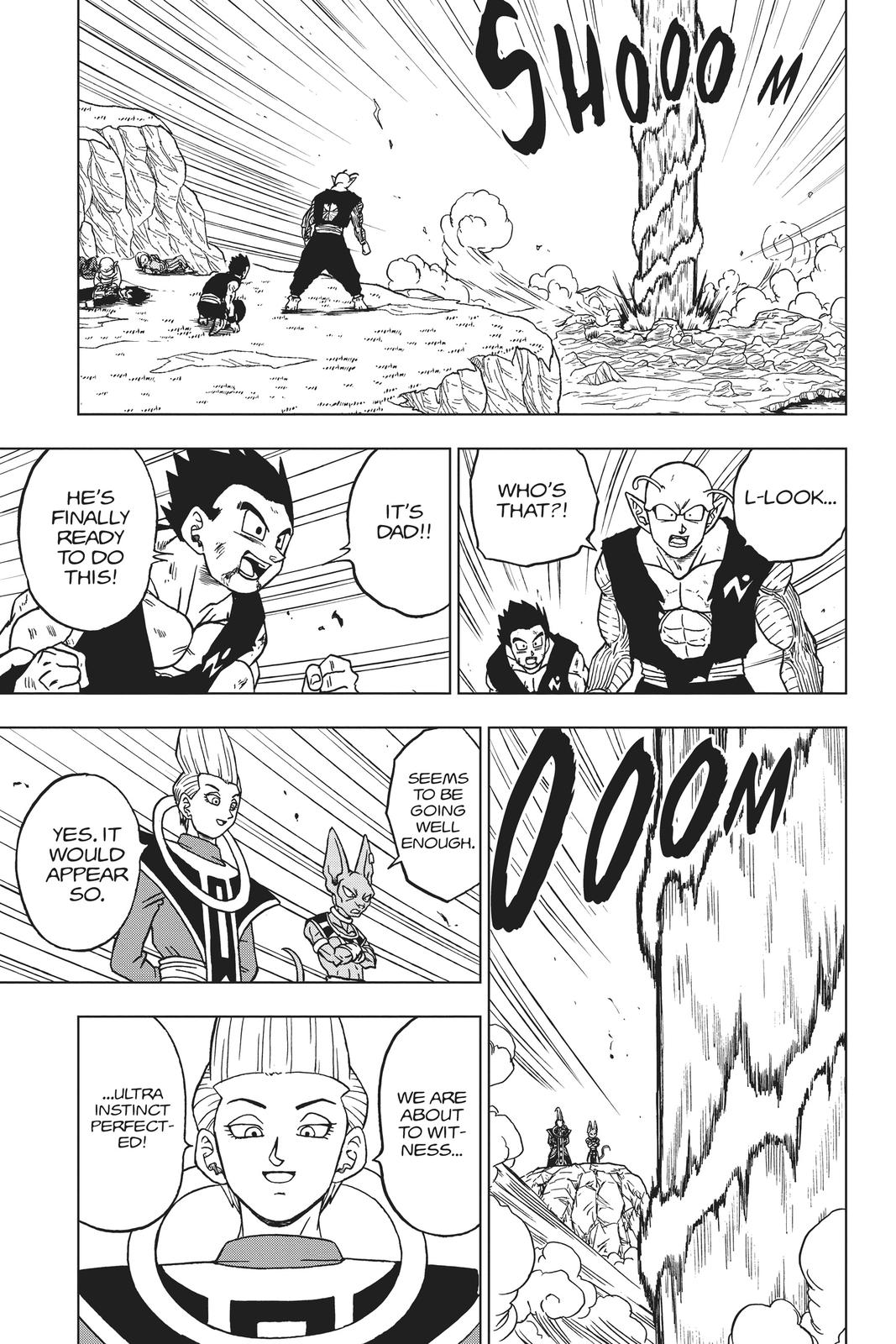 Dragon Ball Super Chapter 64 Page 9