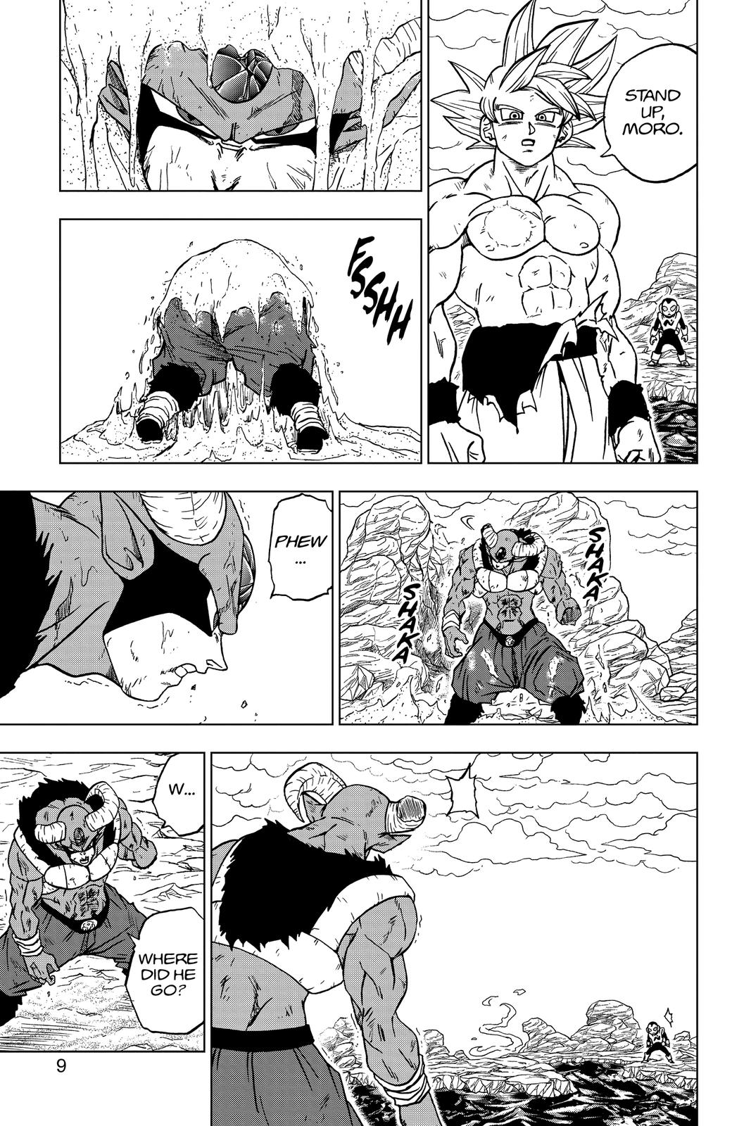 Dragon Ball Super Chapter 65 Page 10