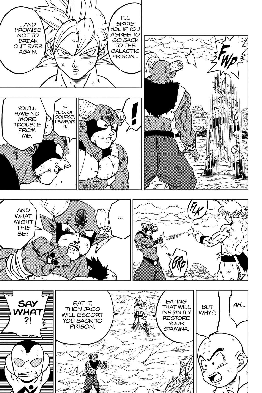 Dragon Ball Super Chapter 65 Page 12