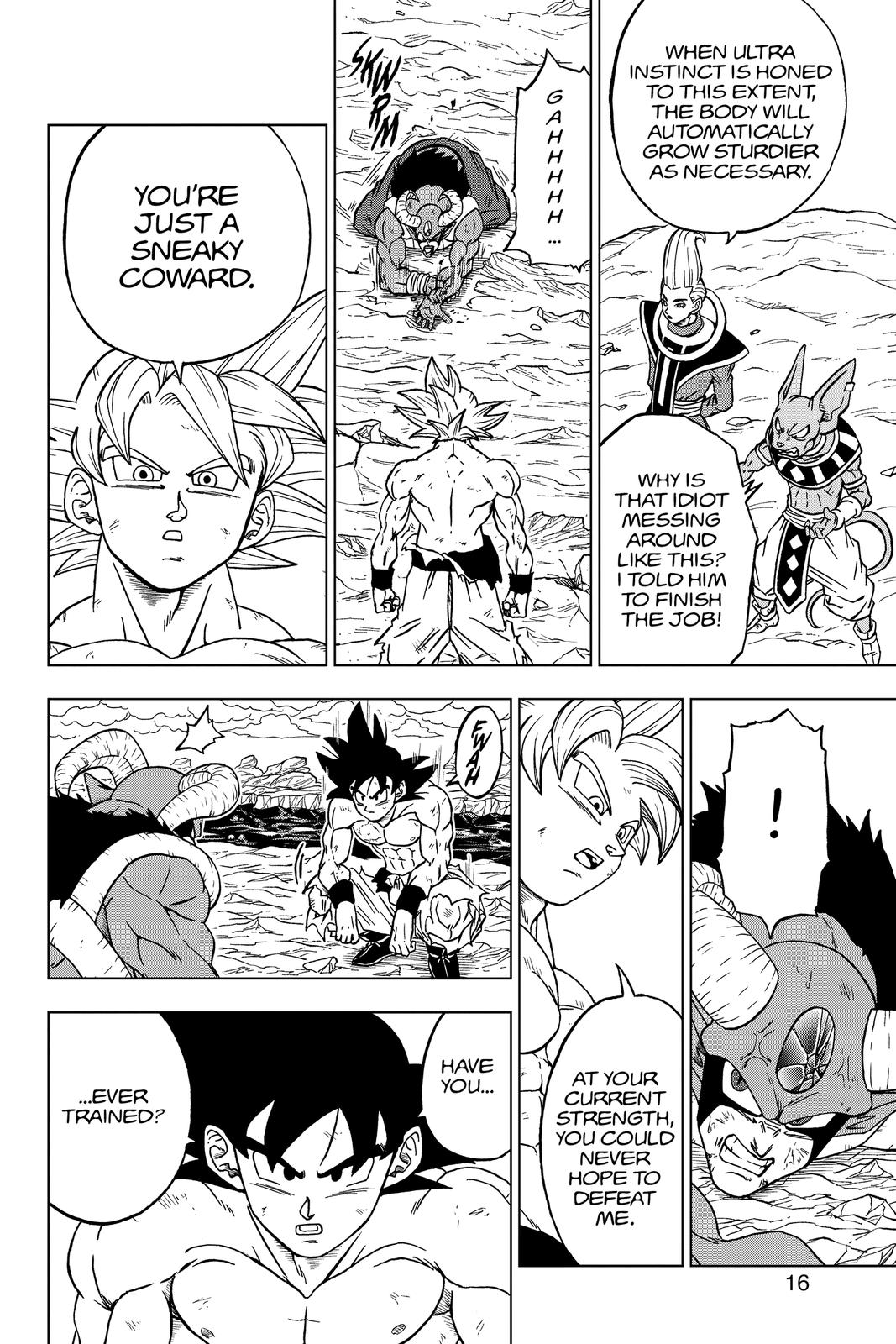 Dragon Ball Super Chapter 65 Page 17