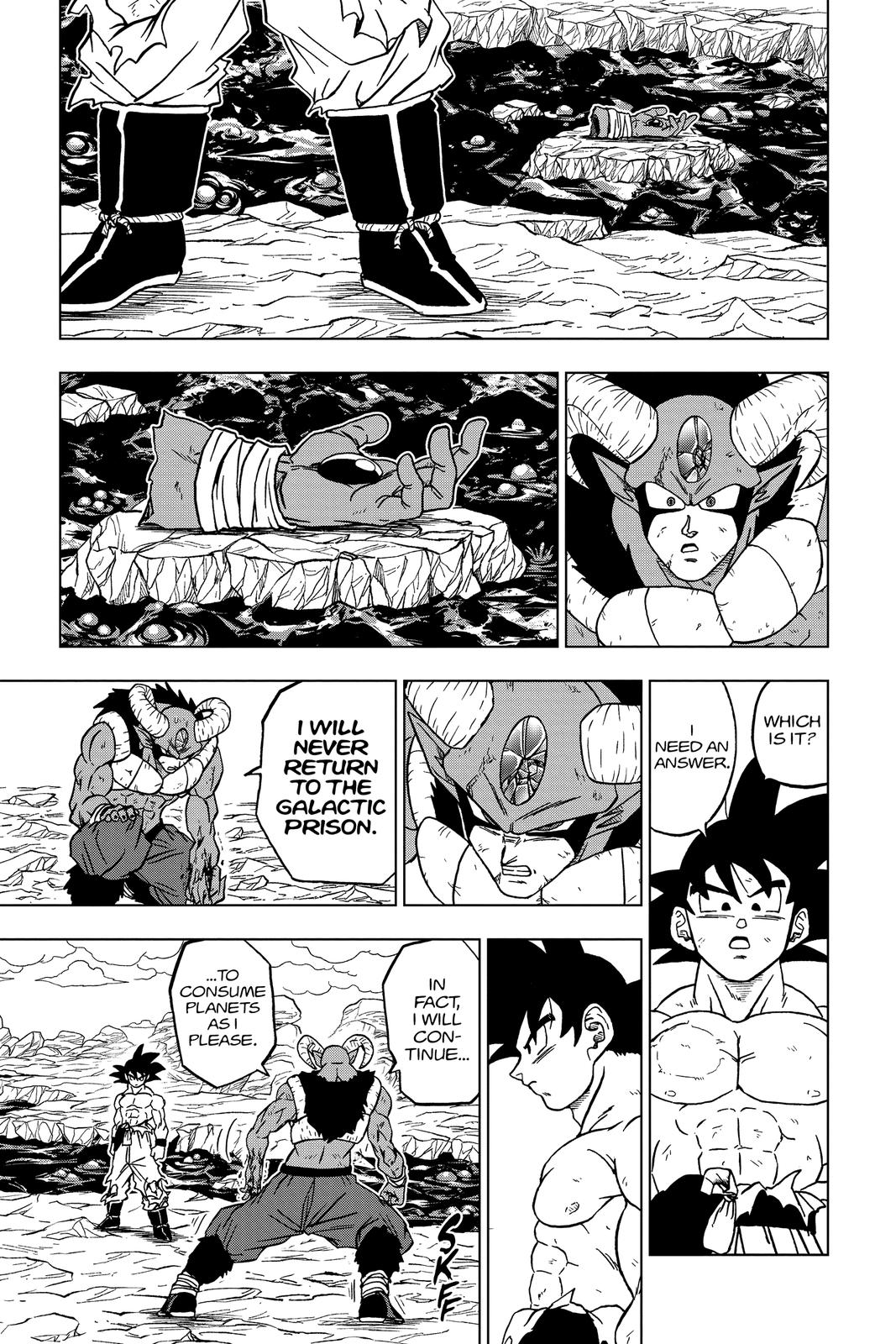 Dragon Ball Super Chapter 65 Page 20