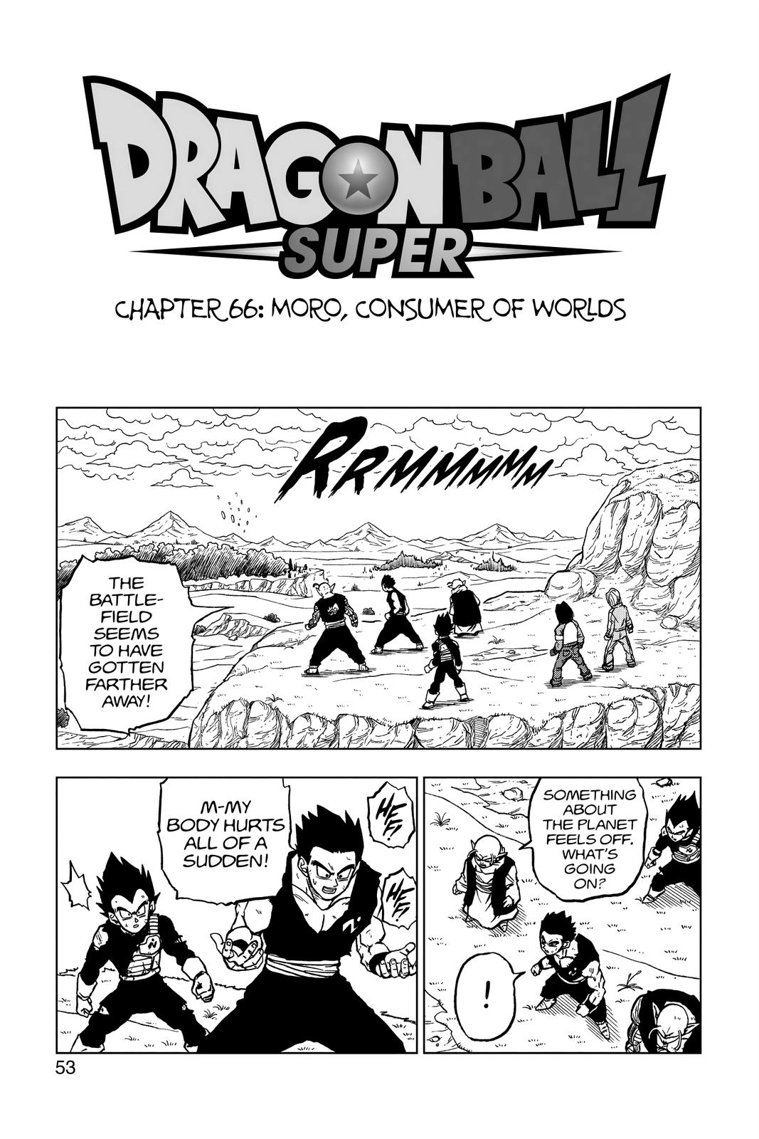 Dragon Ball Super Chapter 66 Page 1
