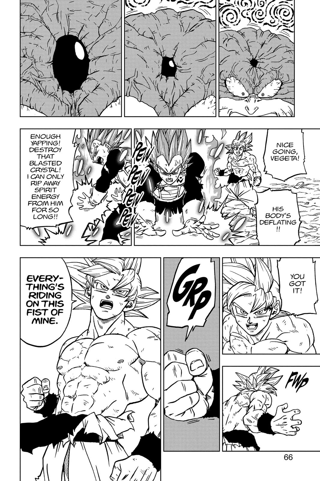 Dragon Ball Super Chapter 66 Page 14
