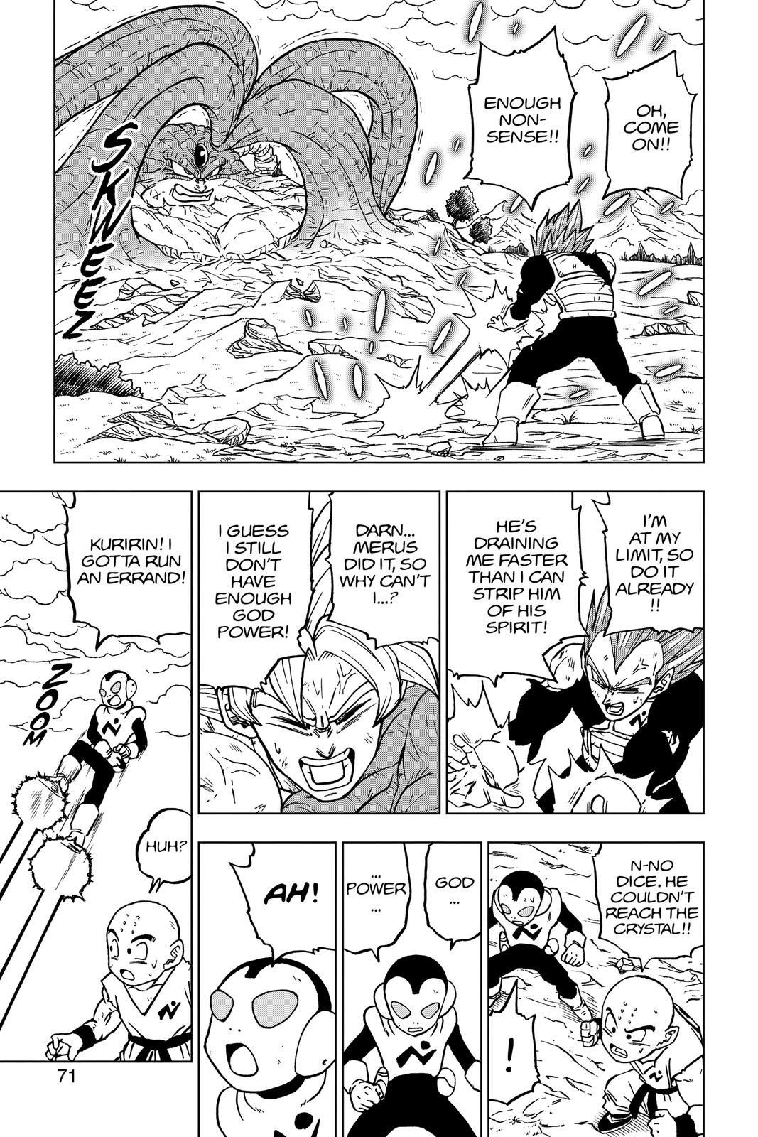 Dragon Ball Super Chapter 66 Page 19