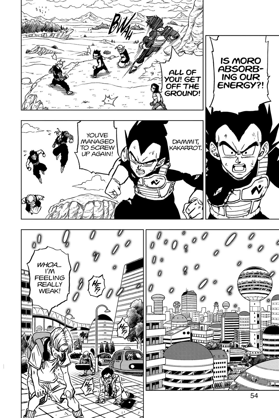 Dragon Ball Super Chapter 66 Page 2