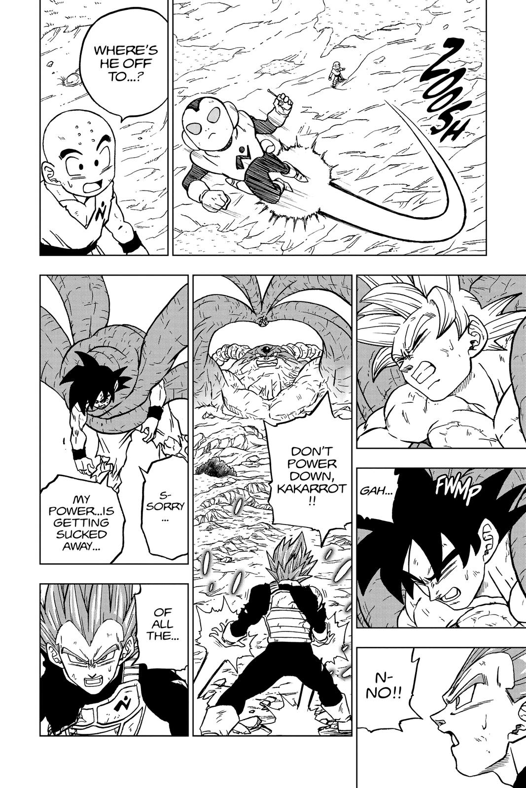 Dragon Ball Super Chapter 66 Page 20