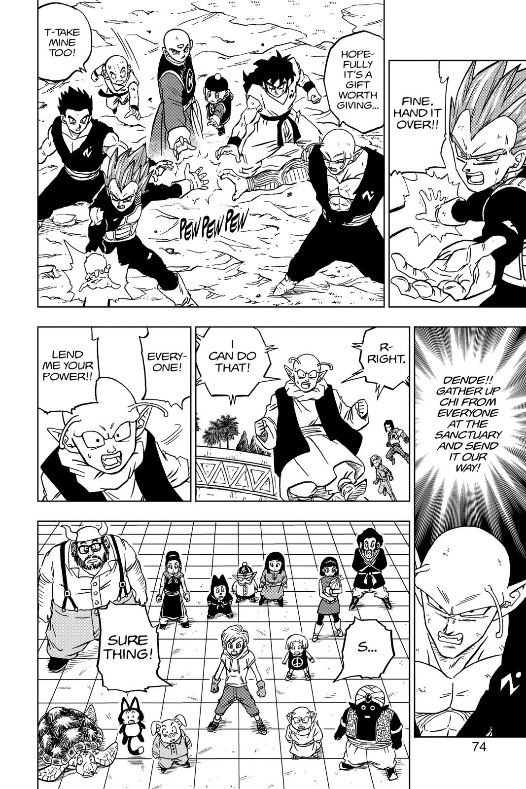 Dragon Ball Super Chapter 66 Page 22