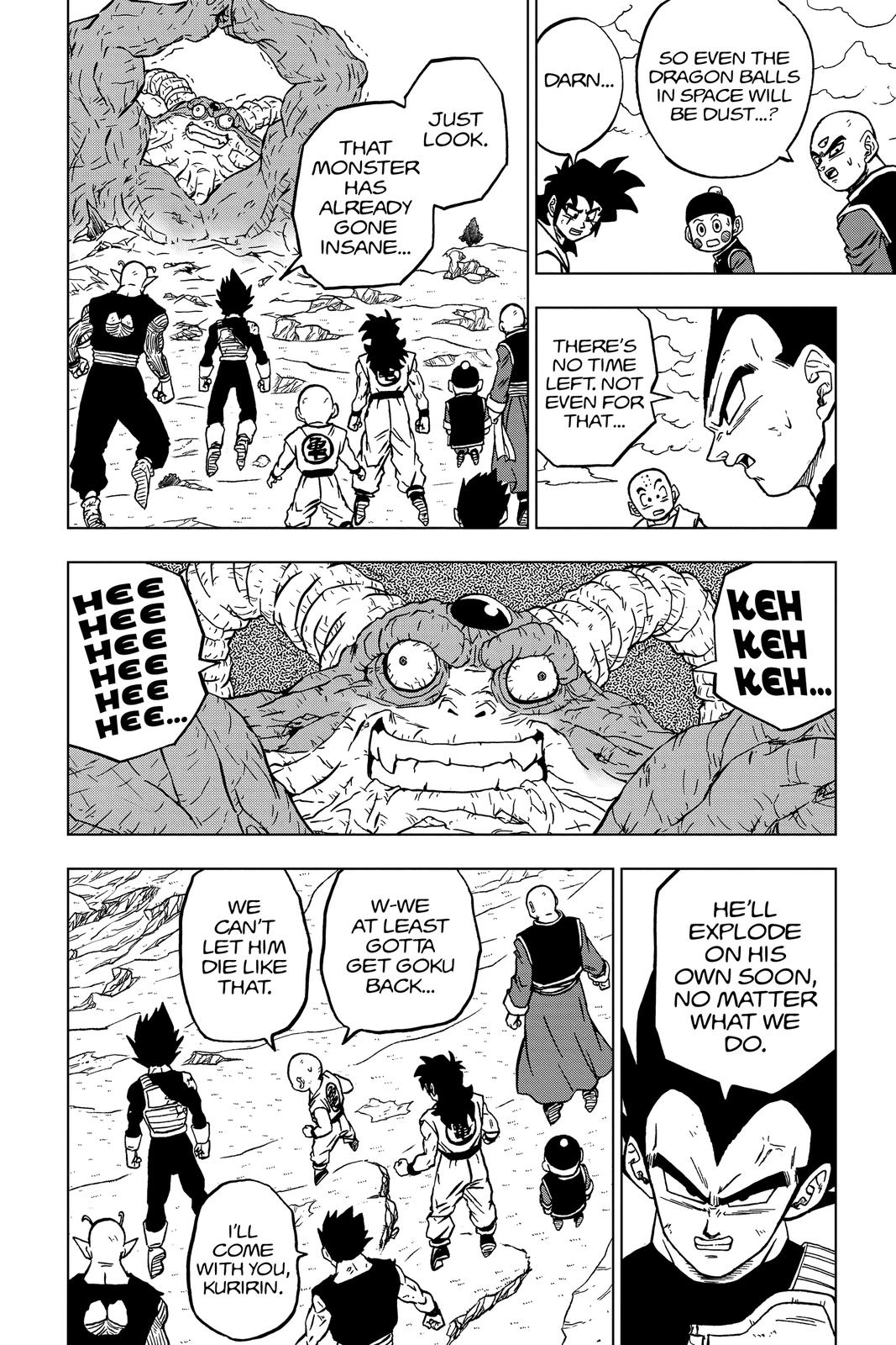 Dragon Ball Super Chapter 66 Page 28