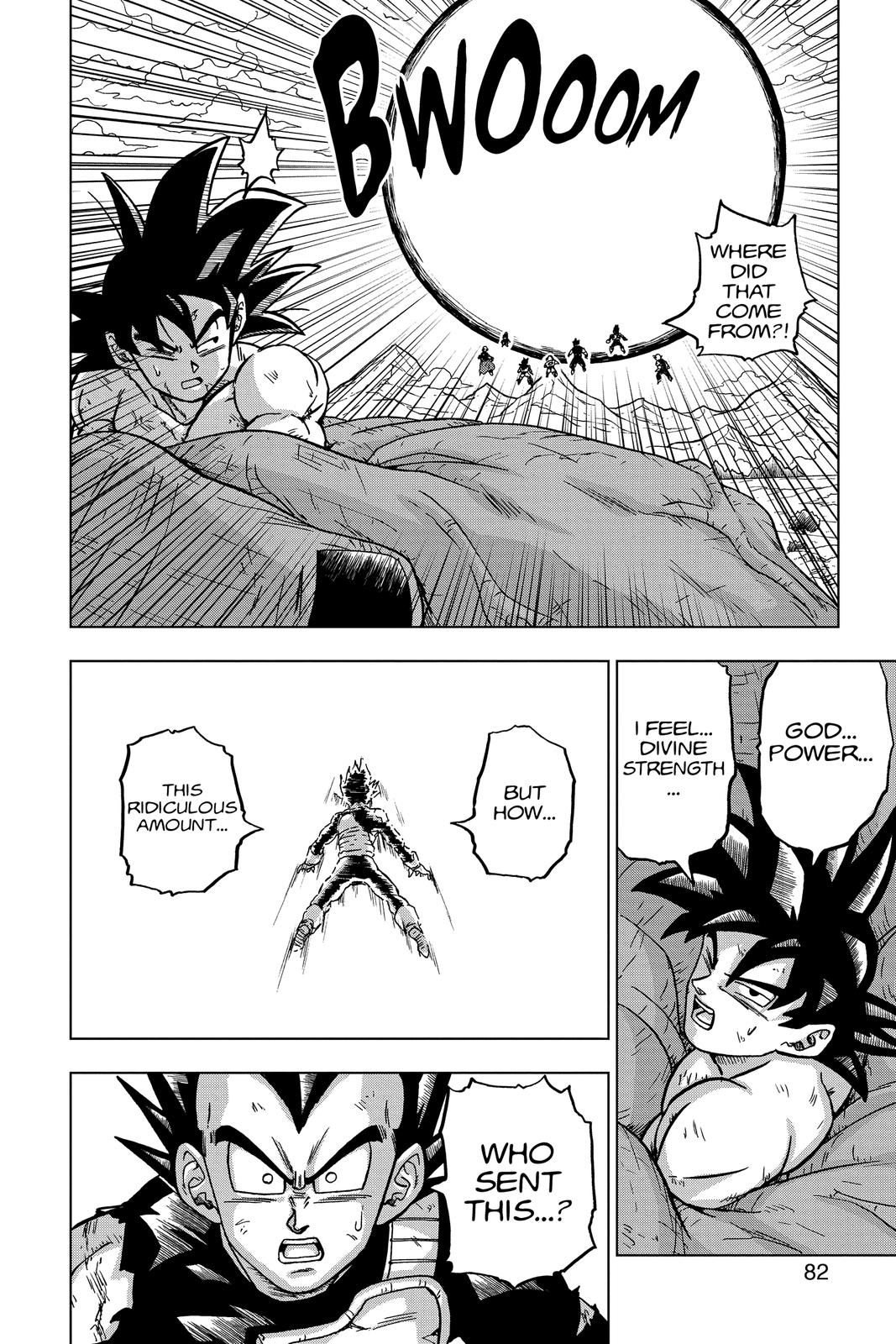 Dragon Ball Super Chapter 66 Page 30