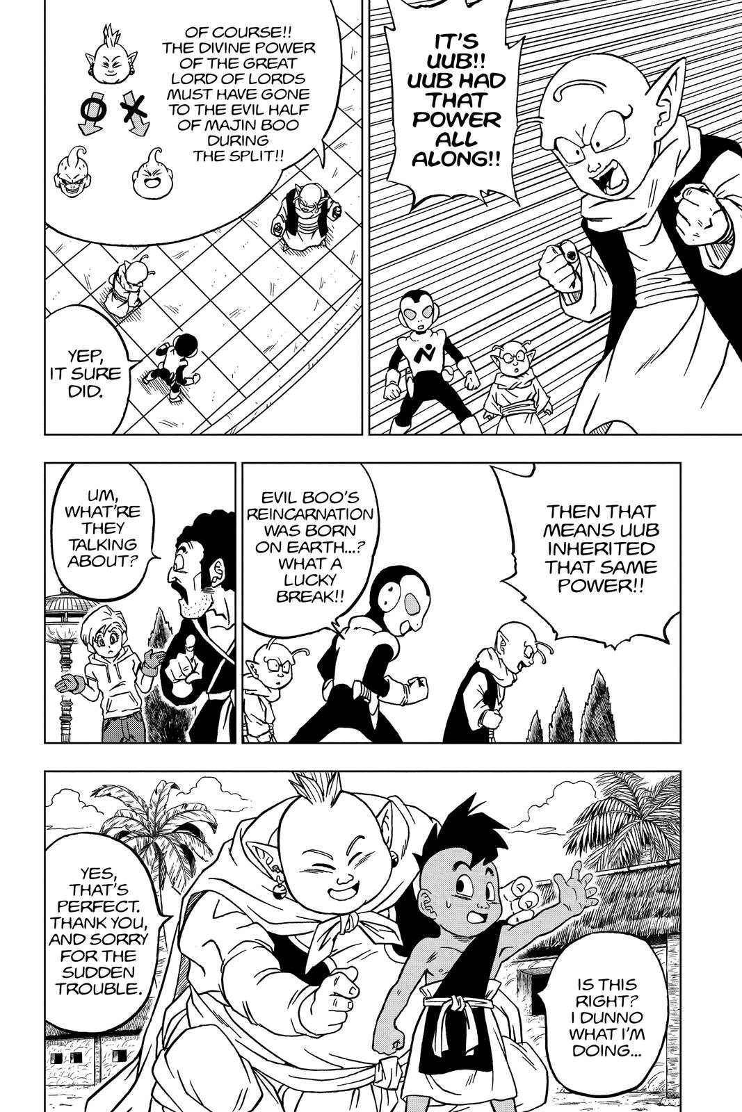Dragon Ball Super Chapter 66 Page 32