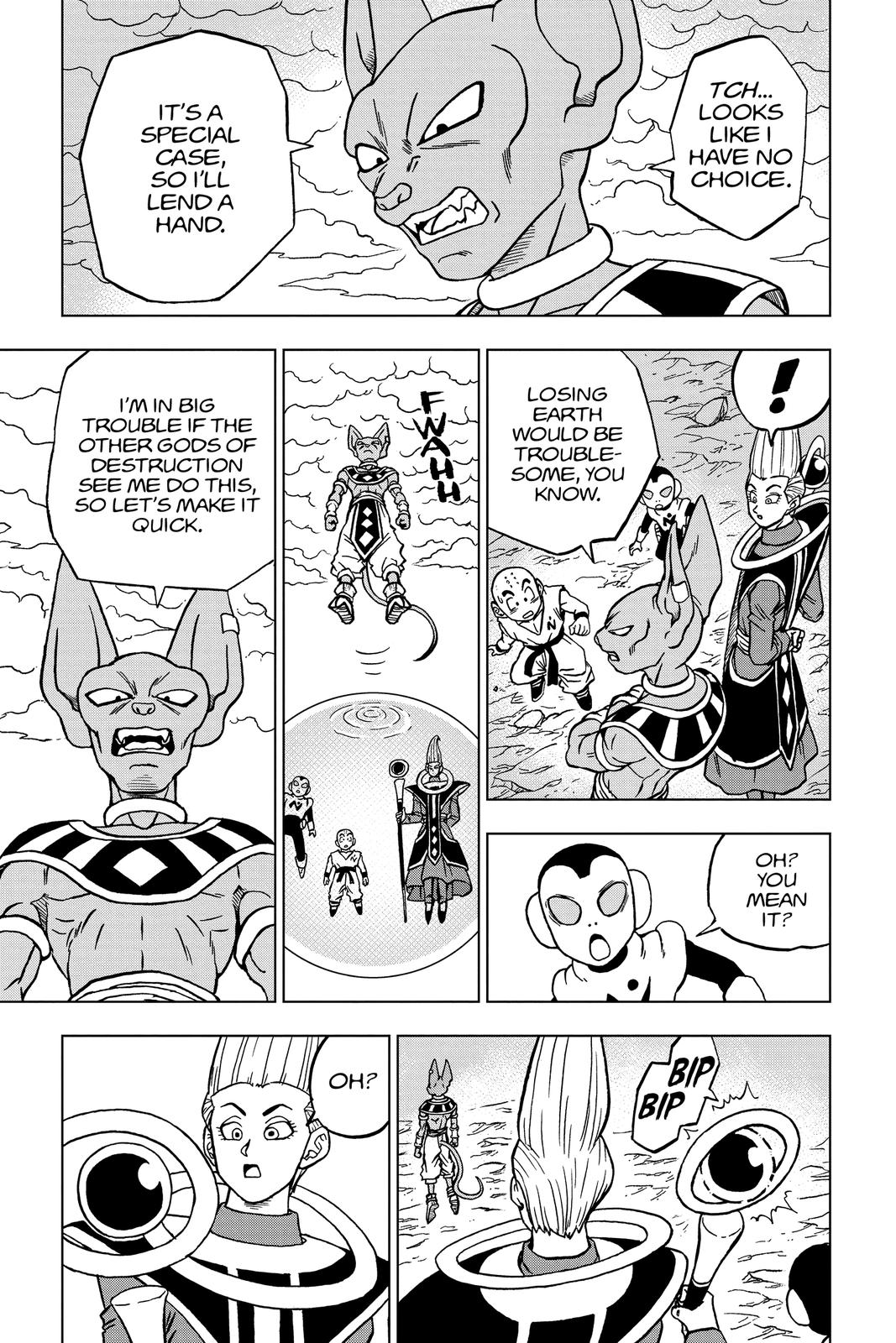 Dragon Ball Super Chapter 66 Page 7