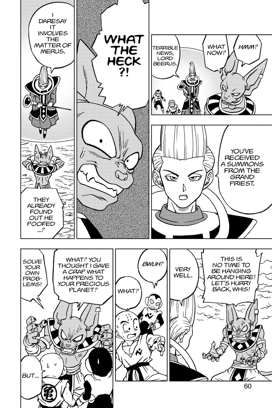 Dragon Ball Super Chapter 66 Page 8