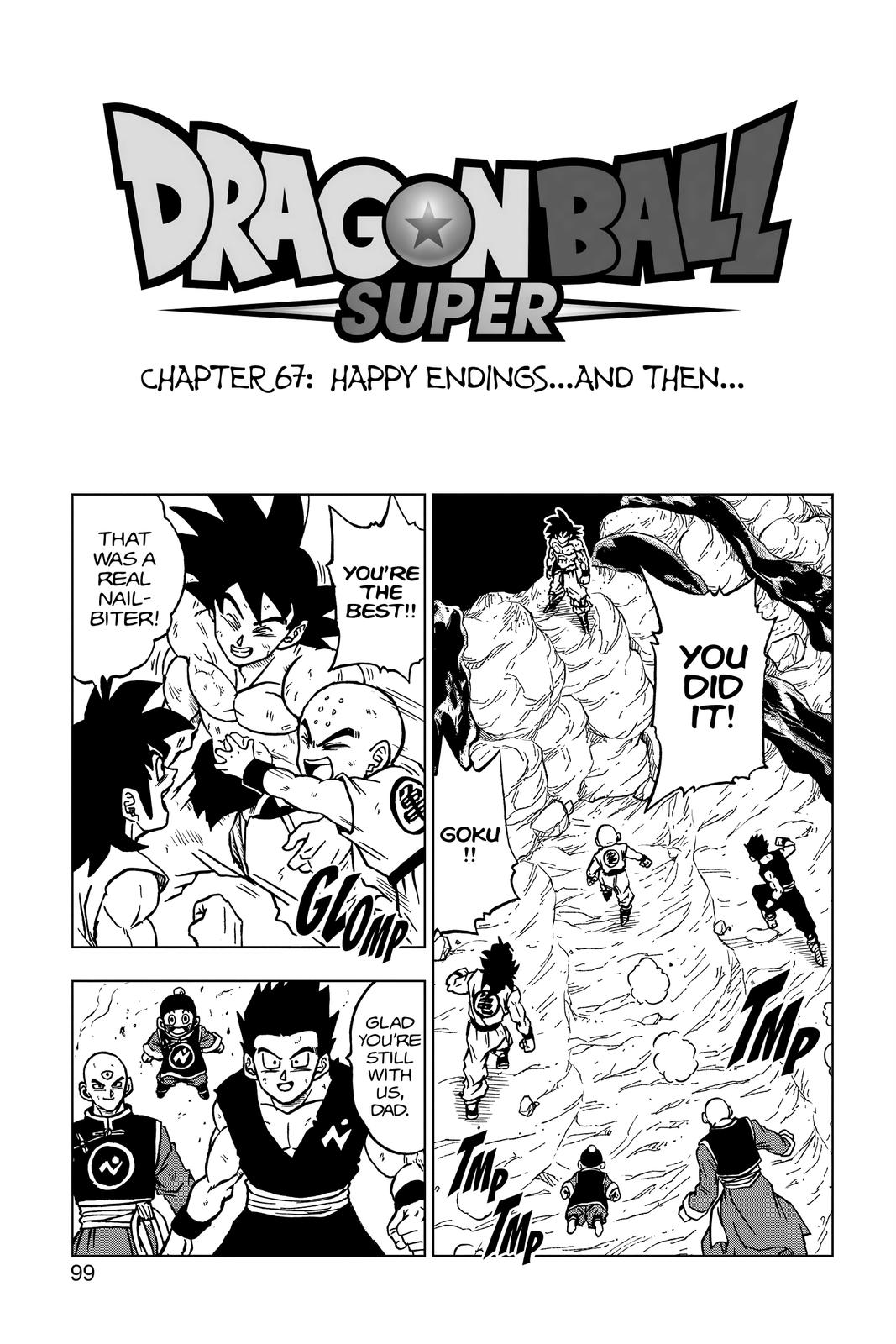 Dragon Ball Super Chapter 67 Page 1