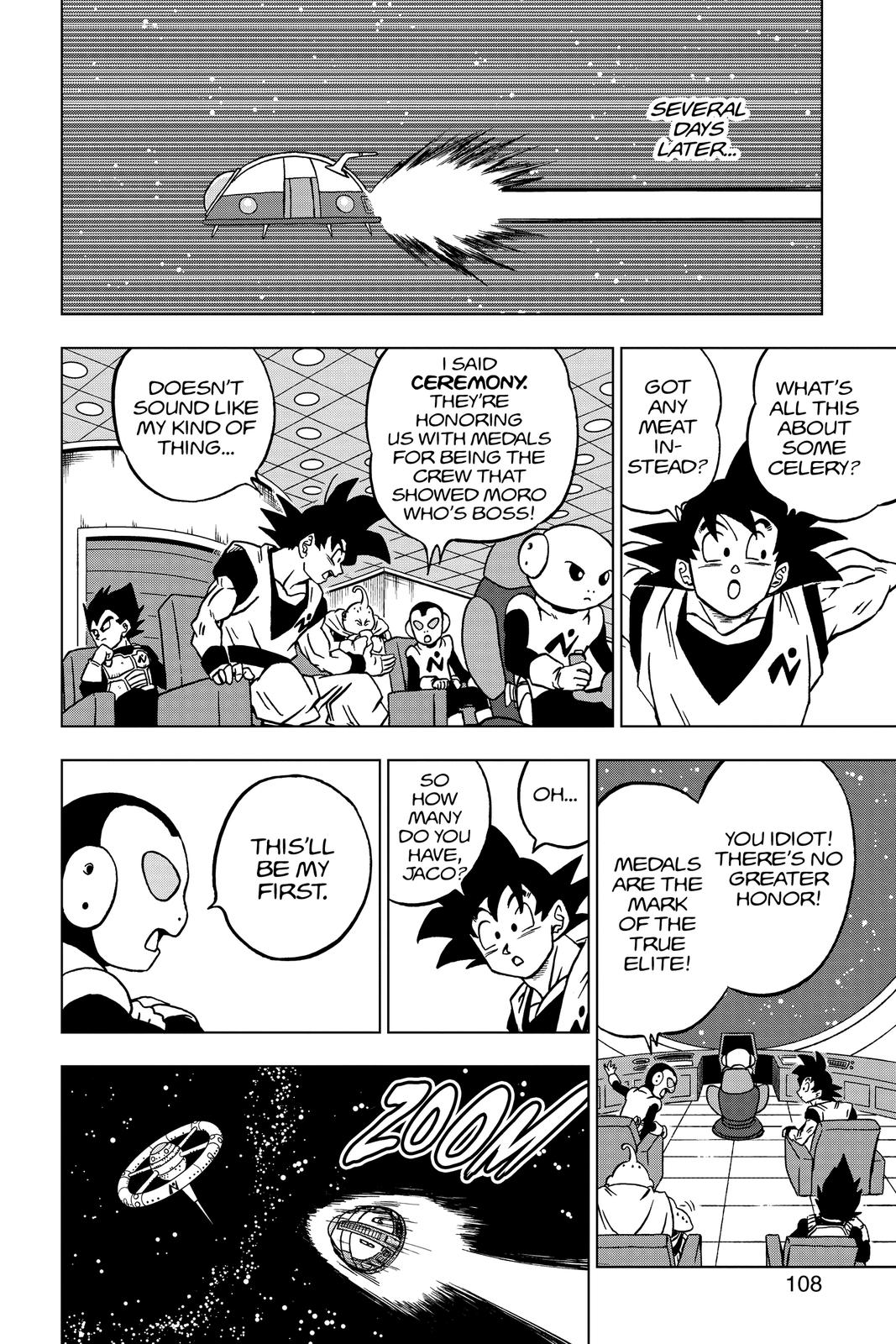 Dragon Ball Super Chapter 67 Page 10
