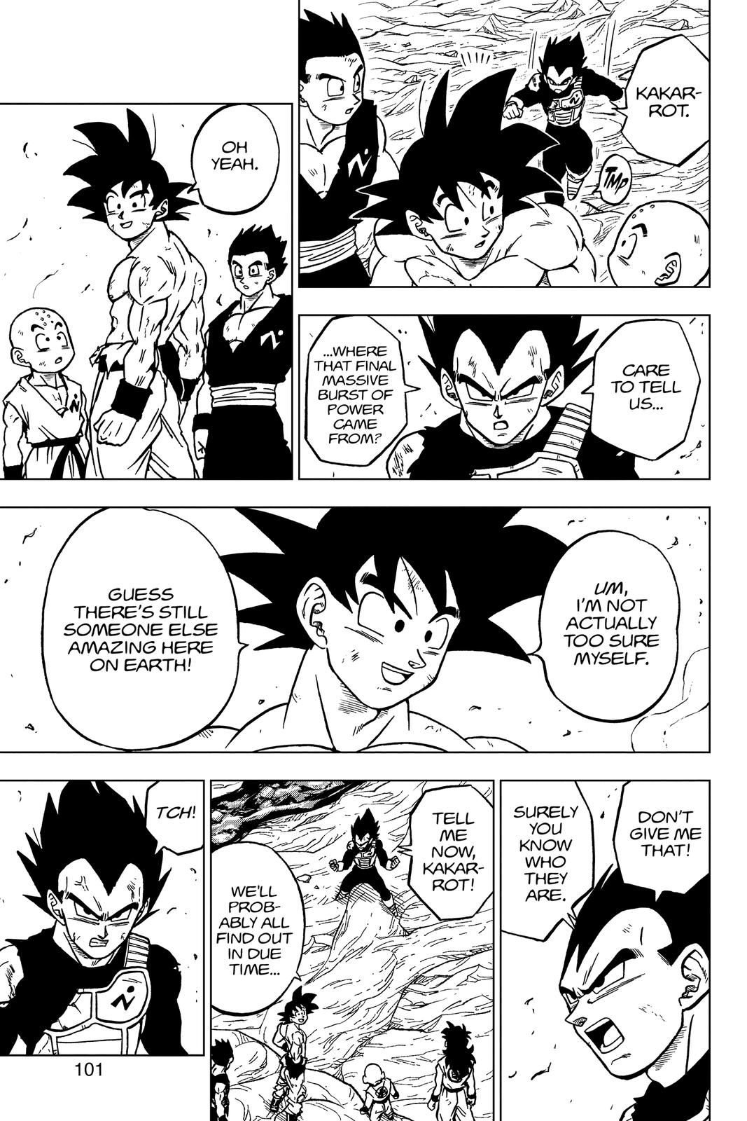 Dragon Ball Super Chapter 67 Page 3