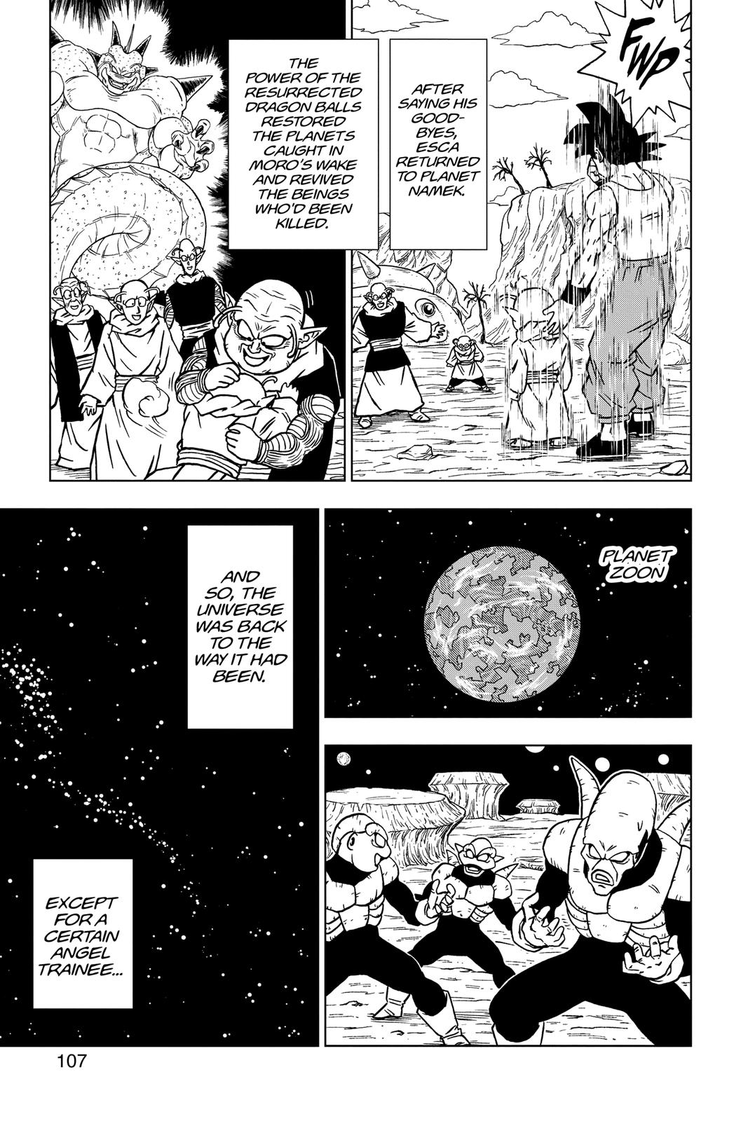 Dragon Ball Super Chapter 67 Page 9