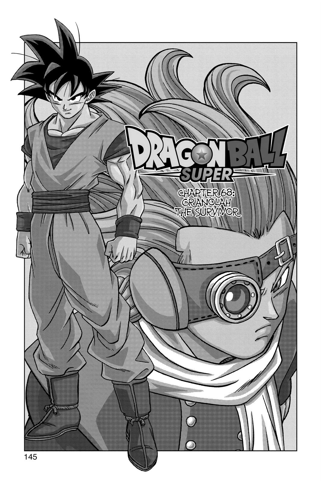 Dragon Ball Super Chapter 68 Page 1