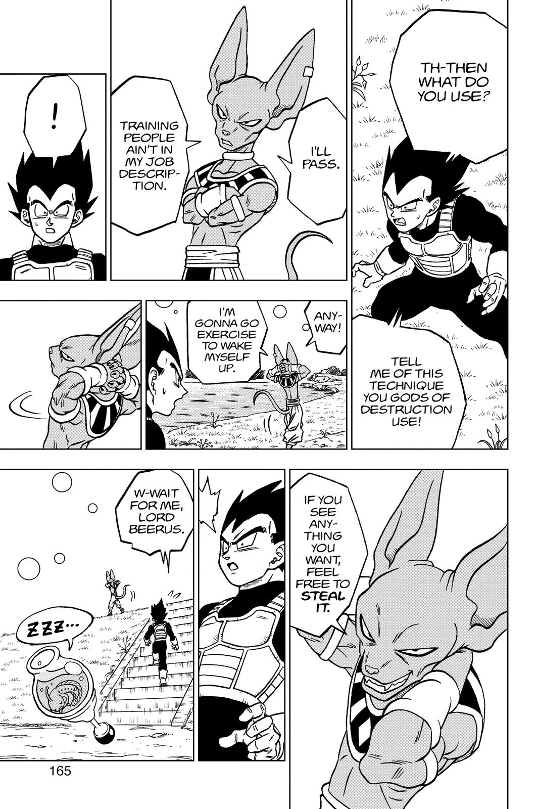 Dragon Ball Super Chapter 68 Page 21