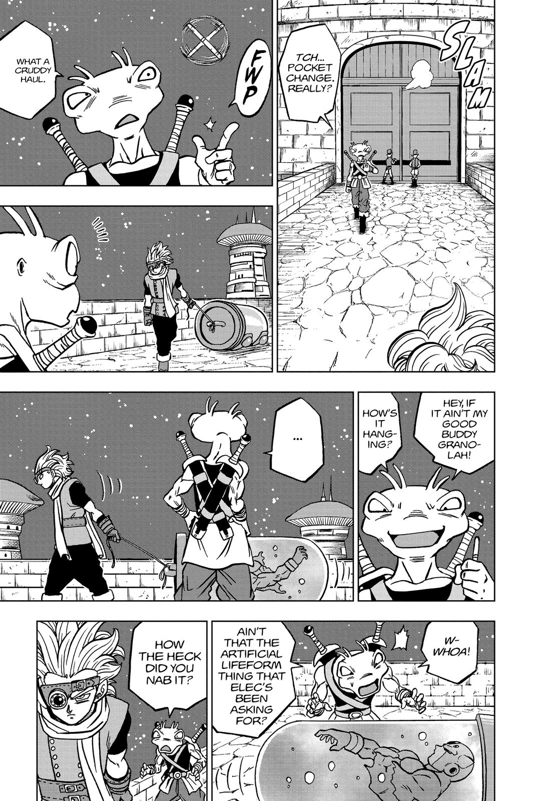 Dragon Ball Super Chapter 68 Page 23