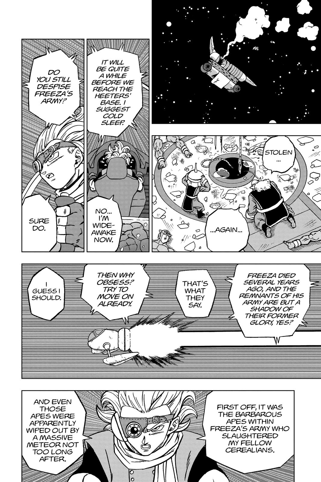 Dragon Ball Super Chapter 68 Page 6