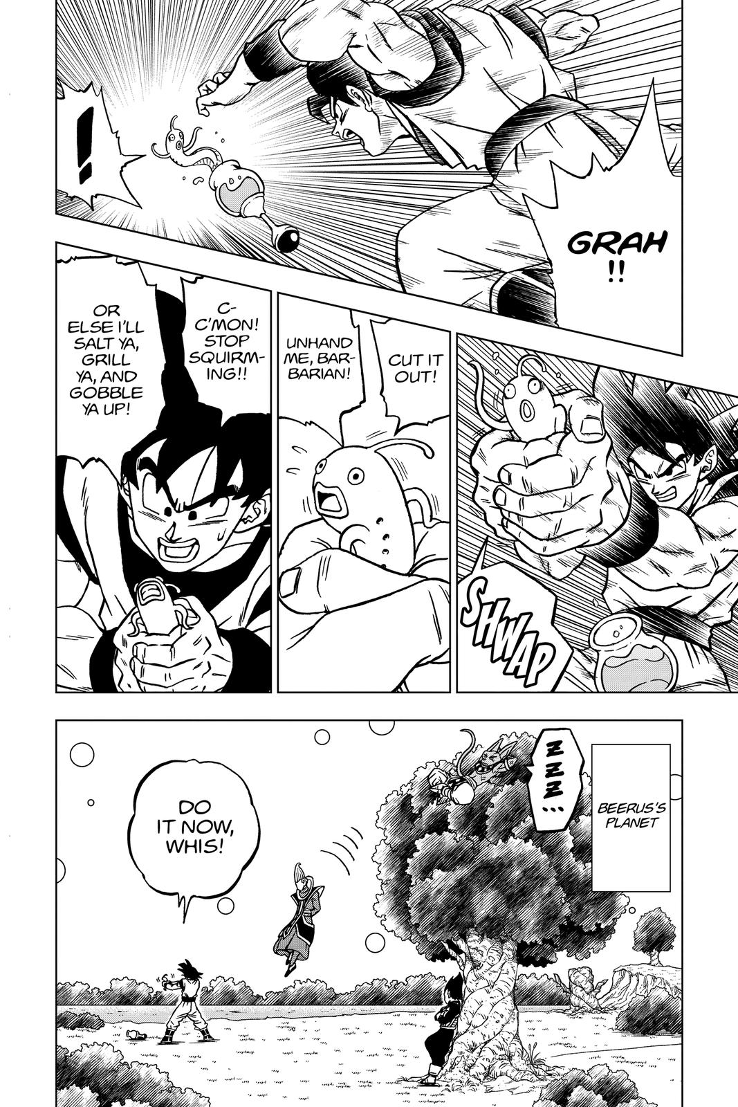 Dragon Ball Super Chapter 68 Page 8