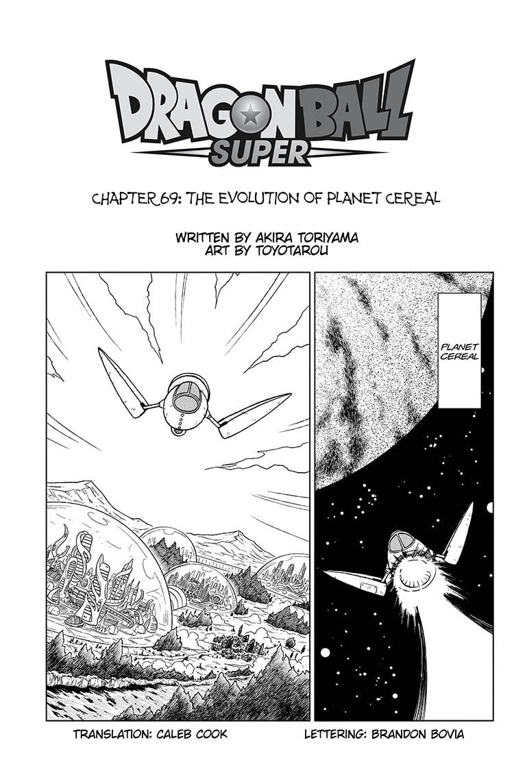 Dragon Ball Super Chapter 69 Page 1