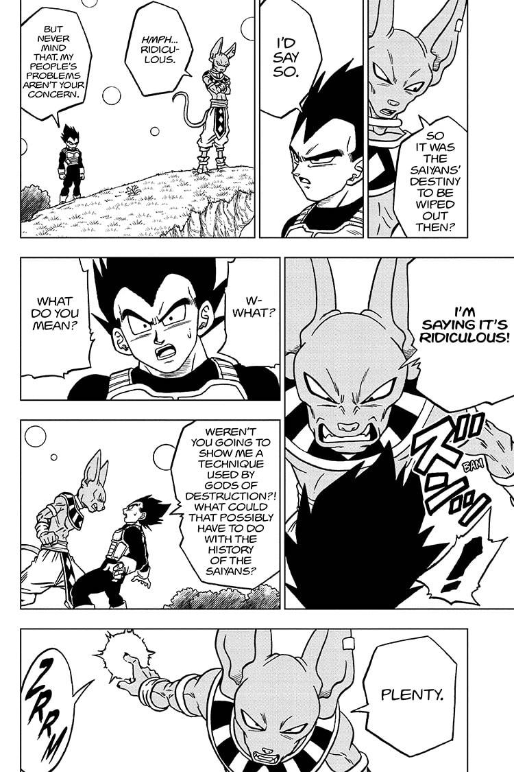 Dragon Ball Super Chapter 69 Page 10
