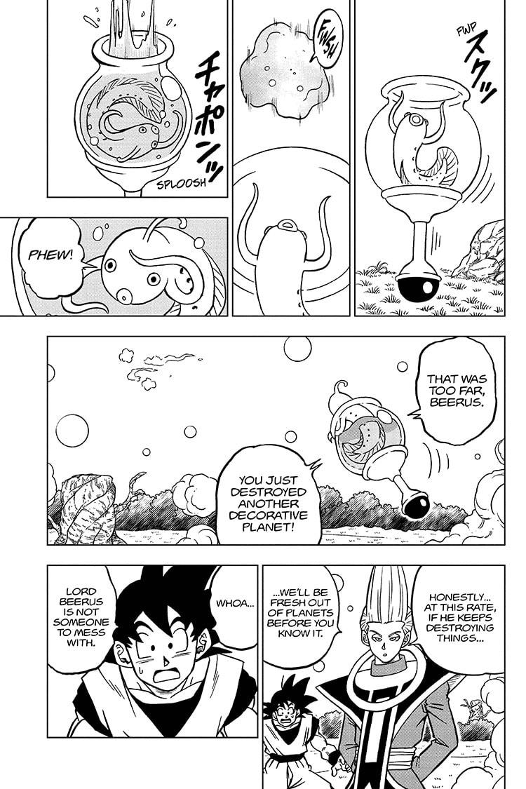 Dragon Ball Super Chapter 69 Page 13