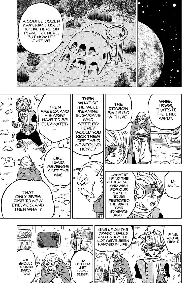 Dragon Ball Super Chapter 69 Page 37