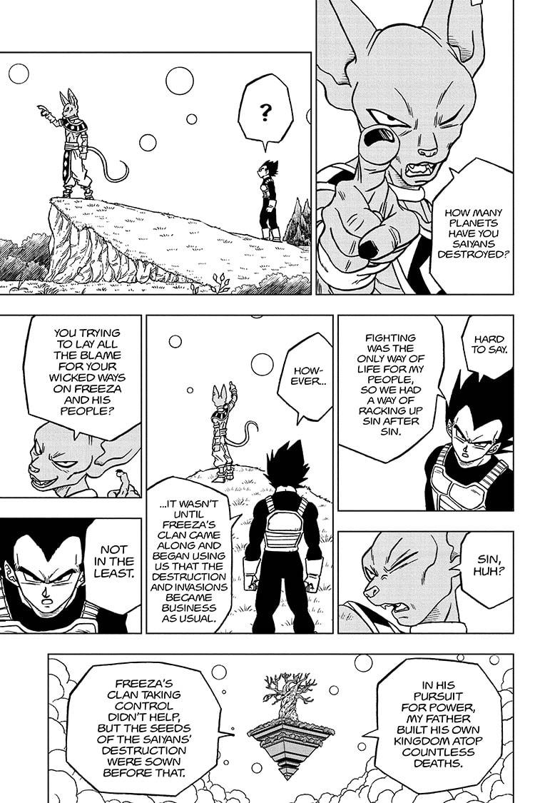 Dragon Ball Super Chapter 69 Page 9