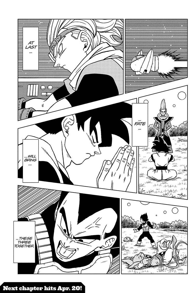 Dragon Ball Super Chapter 70 Page 45