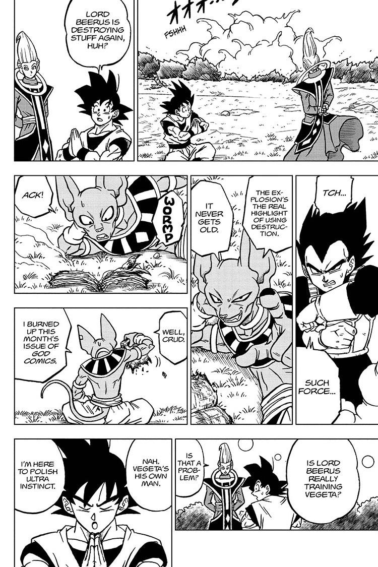 Dragon Ball Super Chapter 70 Page 6