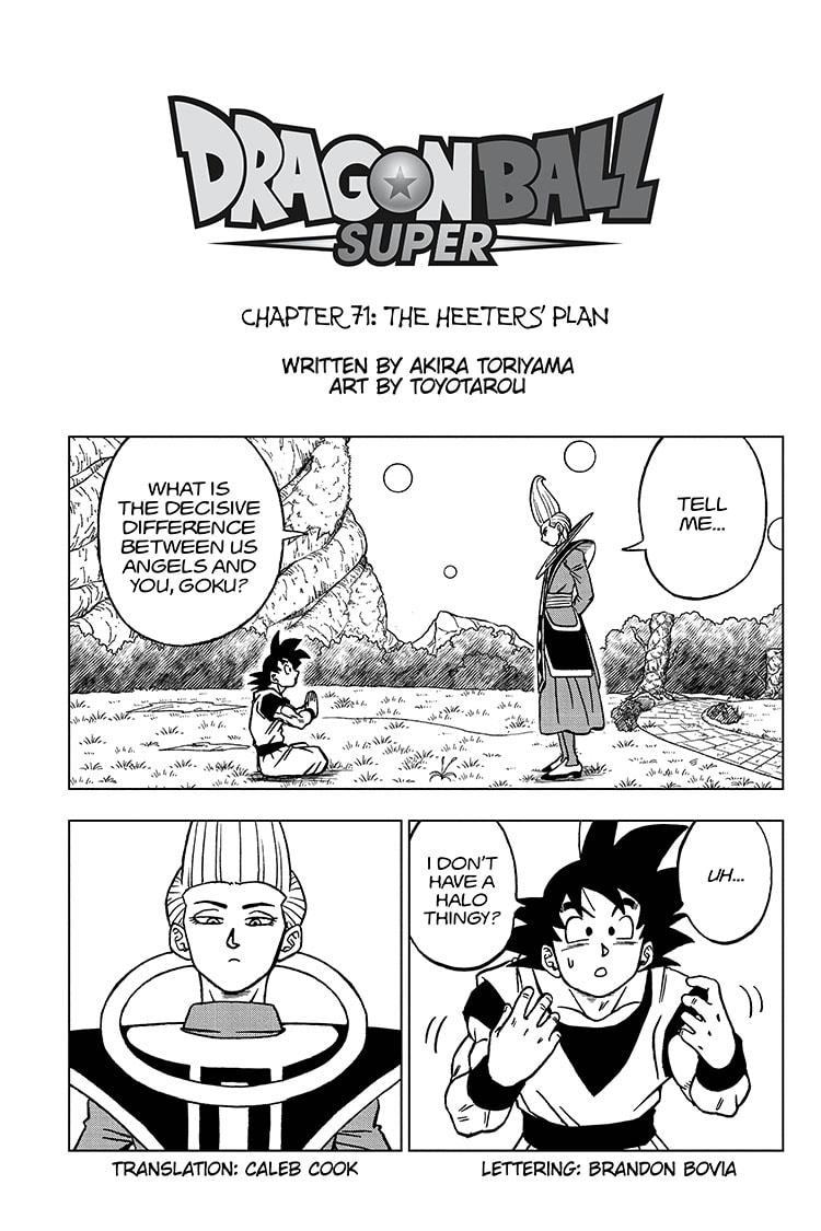 Dragon Ball Super Chapter 71 Page 1