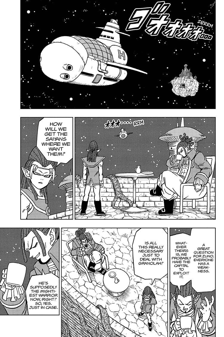 Dragon Ball Super Chapter 71 Page 11