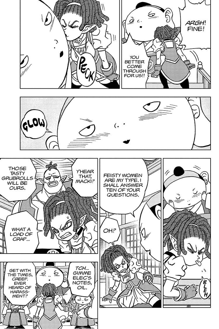 Dragon Ball Super Chapter 71 Page 15