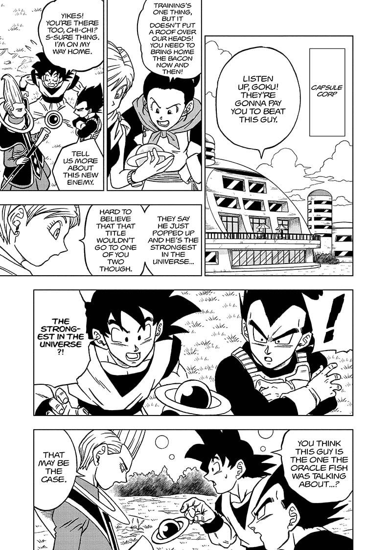 Dragon Ball Super Chapter 71 Page 27