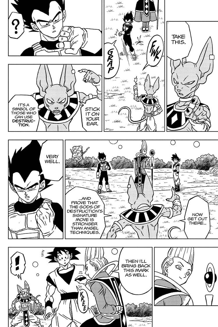 Dragon Ball Super Chapter 71 Page 30