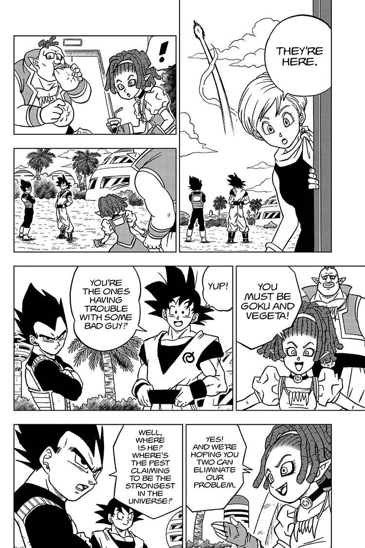 Dragon Ball Super Chapter 71 Page 36