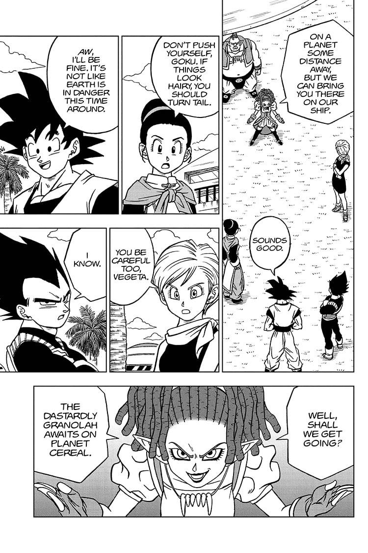 Dragon Ball Super Chapter 71 Page 37