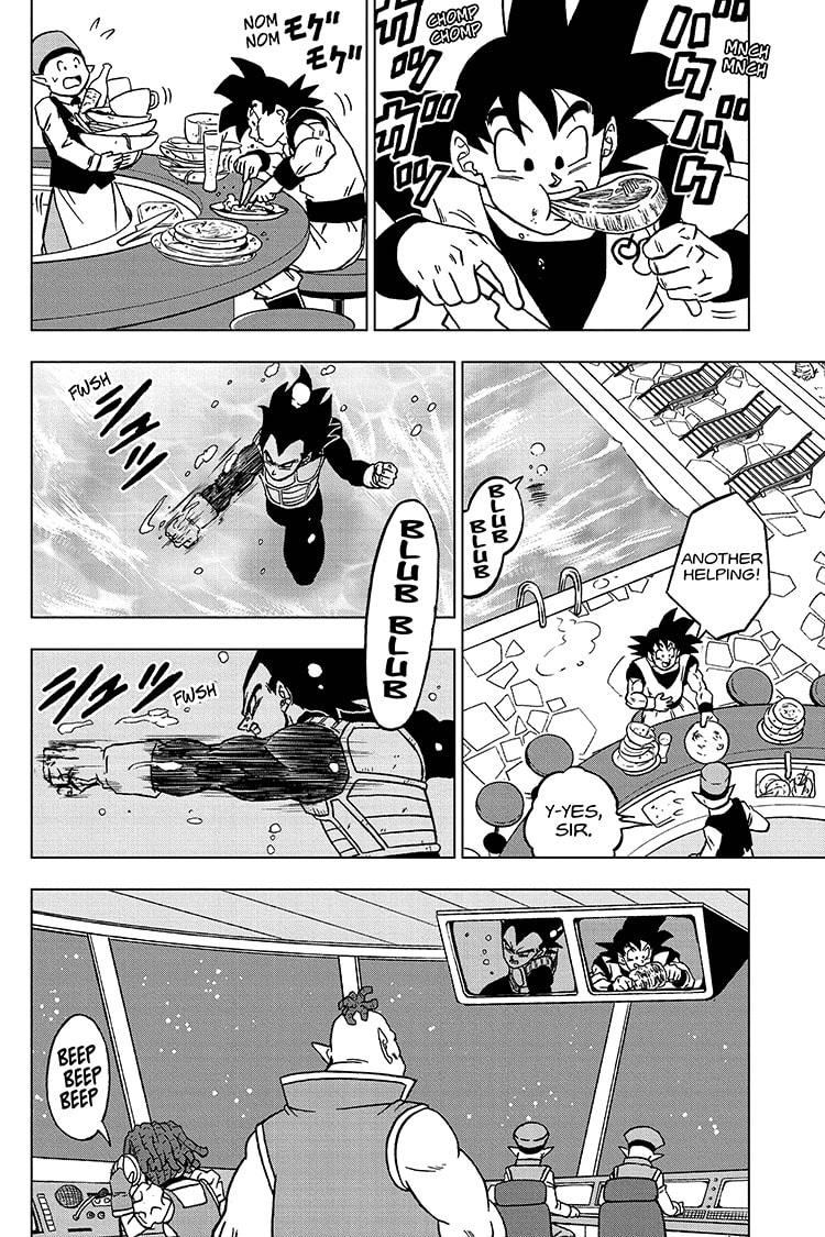Dragon Ball Super Chapter 71 Page 40