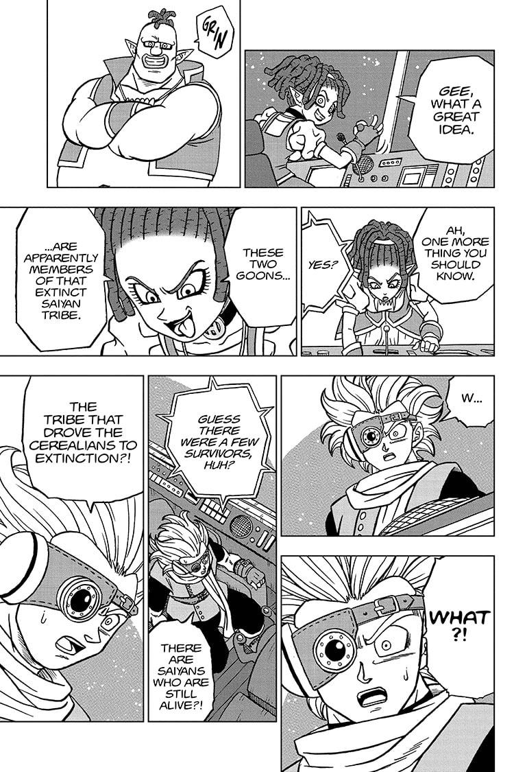 Dragon Ball Super Chapter 71 Page 43
