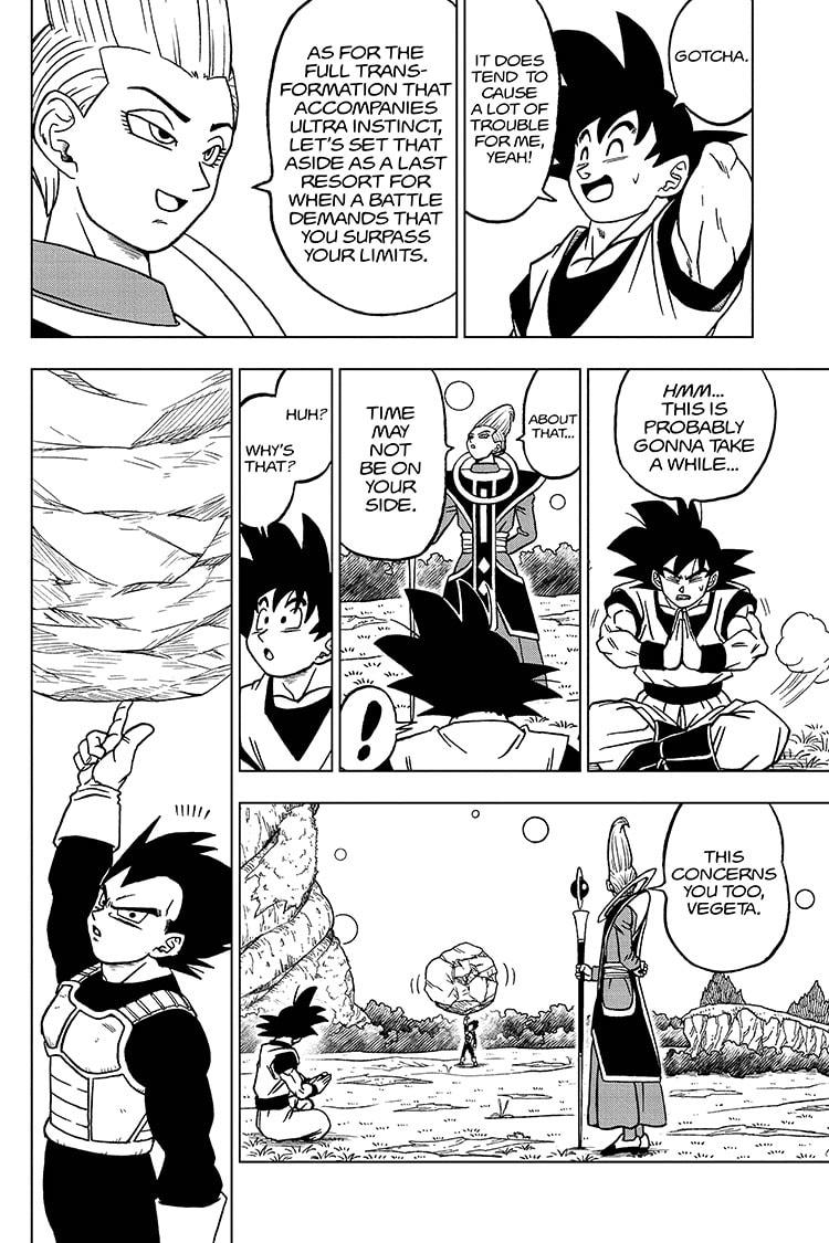 Dragon Ball Super Chapter 71 Page 6