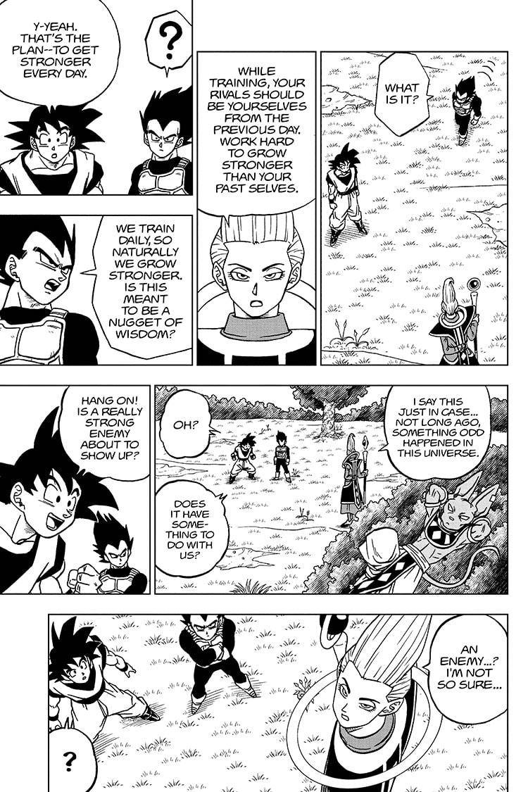 Dragon Ball Super Chapter 71 Page 7